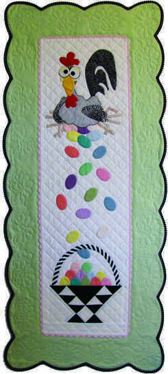 Download Esther the Easter Chicken PDF Pattern, for Wall or Table immediately at Makerist
