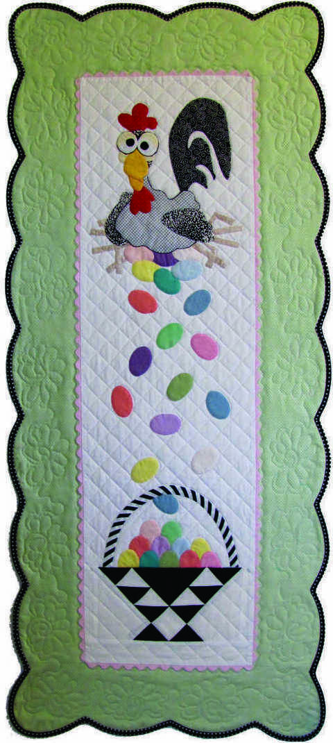 Esther the Easter Chicken PDF Pattern, for Wall or Table at Makerist