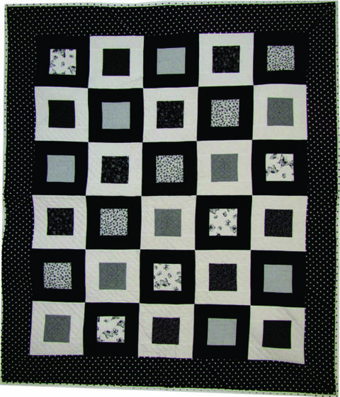 Download Super Easy On The Square PDF Quilt Pattern immediately at Makerist