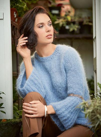 Damen-Pullover Chantal bei Makerist sofort runterladen