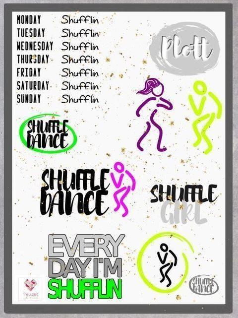Plottdesign - Shuffle Dance bei Makerist sofort runterladen