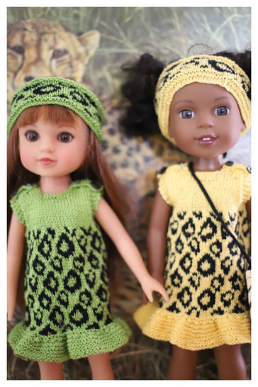 Download Summer dress - Back to Africa -Doll knitting Pattern immediately at Makerist