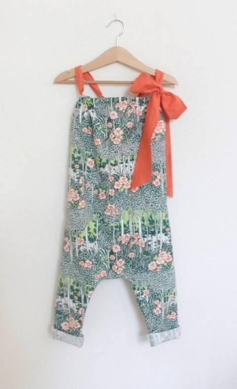 Download Toddler Romper Pattern immediately at Makerist