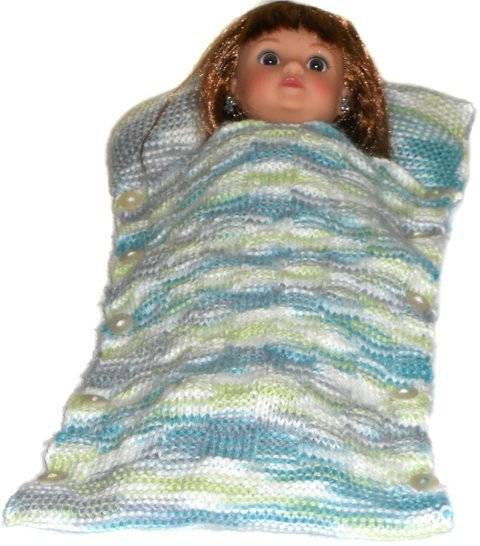 Download Doll sleeping bag  pattern - Sleeping Time immediately at Makerist