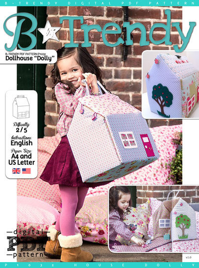 Download Dollhouse DOLLY PDF Pattern + Tutorial immediately at Makerist