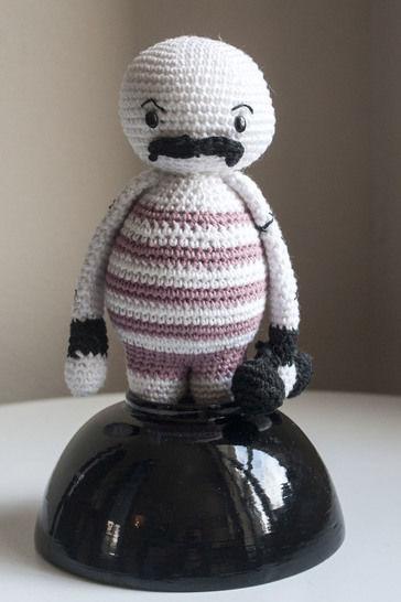 Télécharger Strong boy - patron détaillé - Modèles de crochet tout de suite sur Makerist