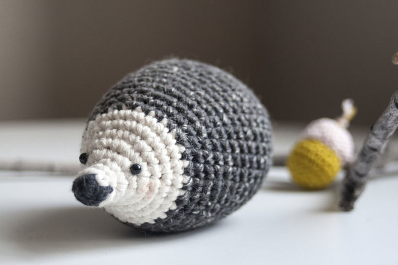 Télécharger Hérisson - patron détaillé - Modèles de crochet tout de suite sur Makerist
