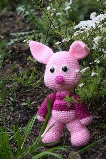 Häkelanleitung Schweinchen Schlau - Häkelanleitungen bei Makerist sofort runterladen