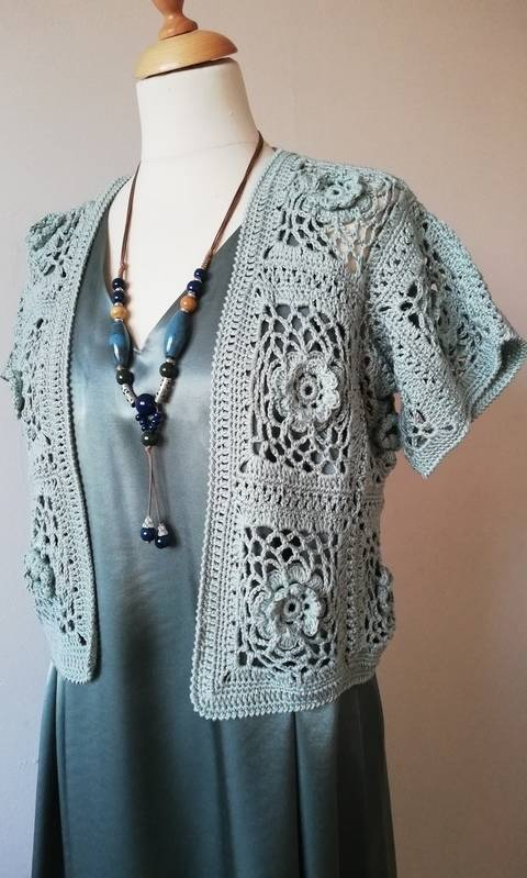 Download Bonita Bolero - crochet pattern  immediately at Makerist