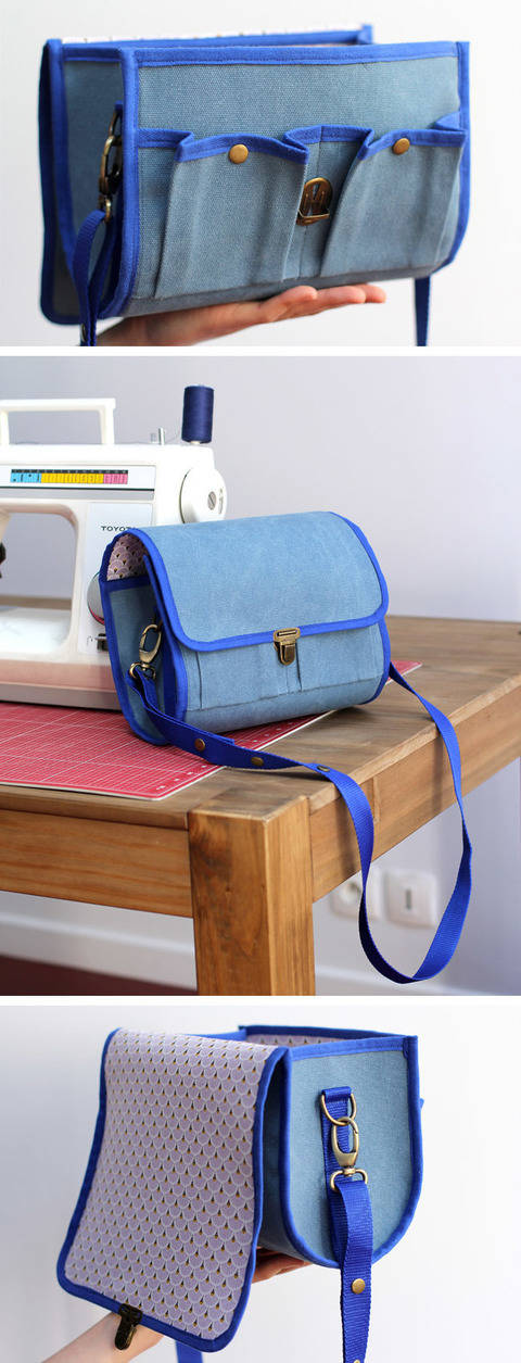 Download Bellay Camera Bag Pattern immediately at Makerist