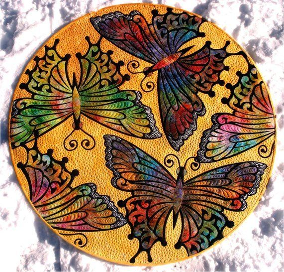Download Kimimila Butterfly quilt PDF pattern immediately at Makerist