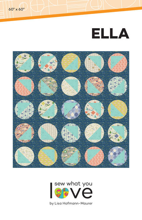 Download Ella Modern Quilt Pattern immediately at Makerist