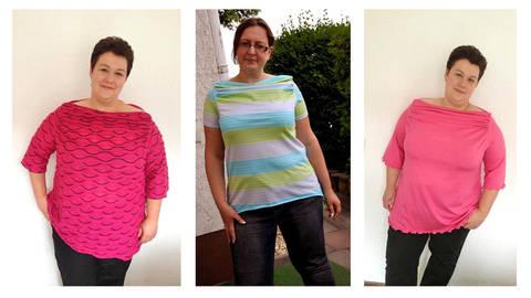 Nähanleitung und Schnittmuster curvyPenelope Shirt, Grössen: 48 - 58 bei Makerist sofort runterladen