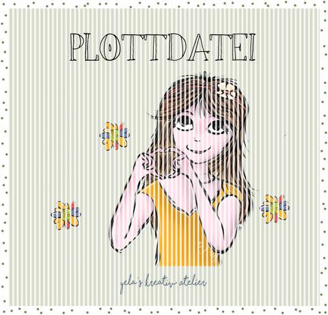 """Plotterdatei Yela`s Kreativ Atelier """" Springlove """" bei Makerist"""