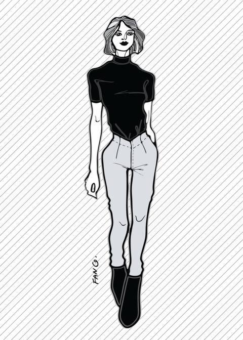 Télécharger RACHEL le pantalon skinny - Patron de couture PDF tout de suite sur Makerist