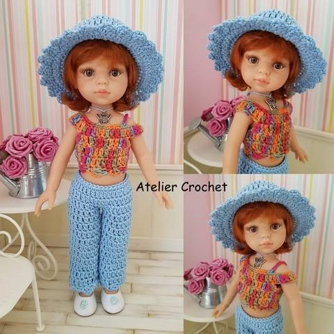 "Download ""Marta"" crochet pattern for Paola Reina immediately at Makerist"