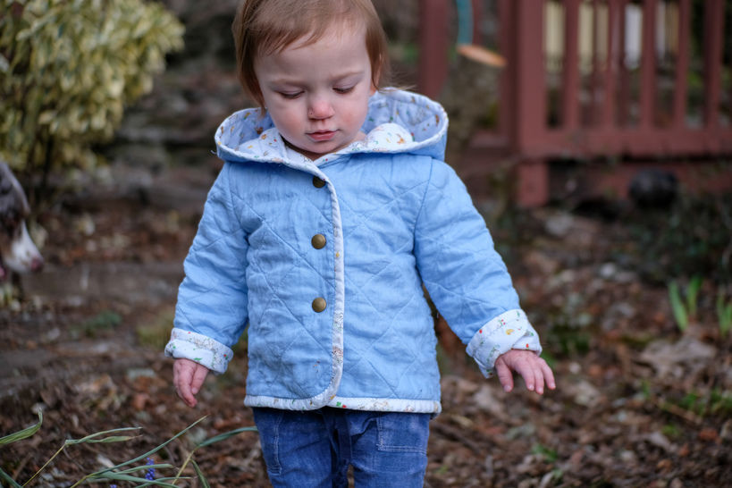 Download Quilted Hooded Jacket immediately at Makerist
