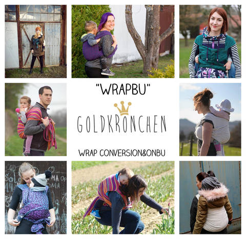 WrapBu Ebook, Tragehilfe, Wrap Conversion, Onbuhimo bei Makerist sofort runterladen