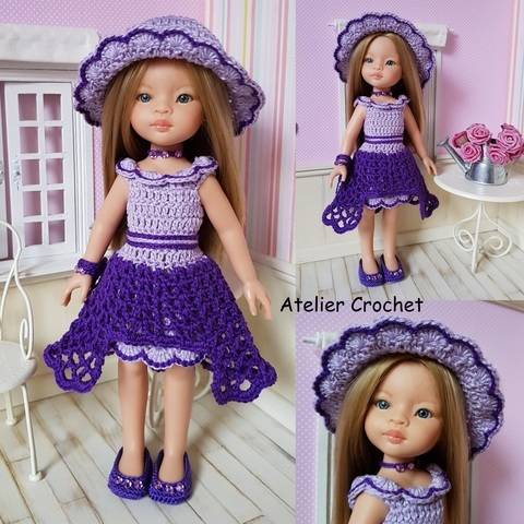 "Download ""Ninon"" crochet pattern for Paola Reina immediately at Makerist"