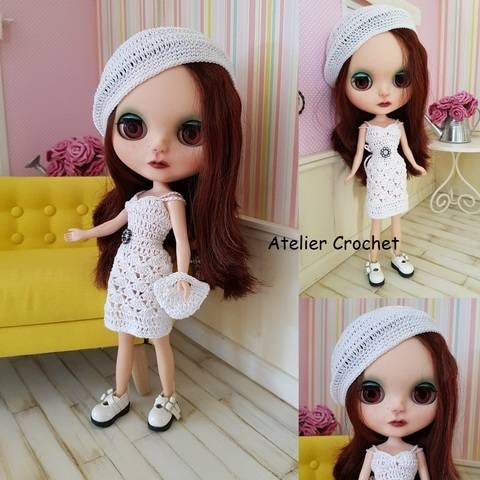 "Download ""Margaux"" crochet pattern for Blythe immediately at Makerist"