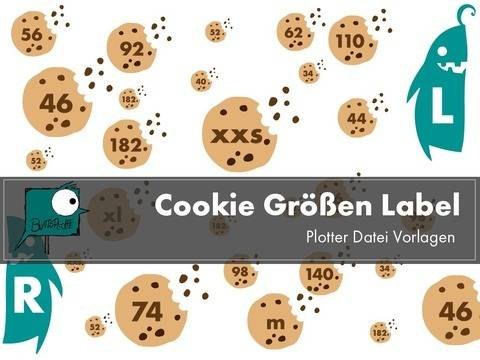 Cookie Labels Plotterdatei bei Makerist