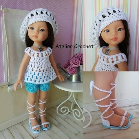 """Download """"Mindie"""" crochet pattern for Paola Reina immediately at Makerist"""