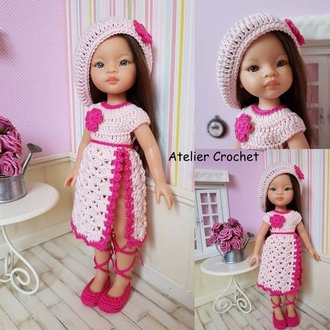 """Download """"Janise"""" crochet pattern for Paola Reina immediately at Makerist"""