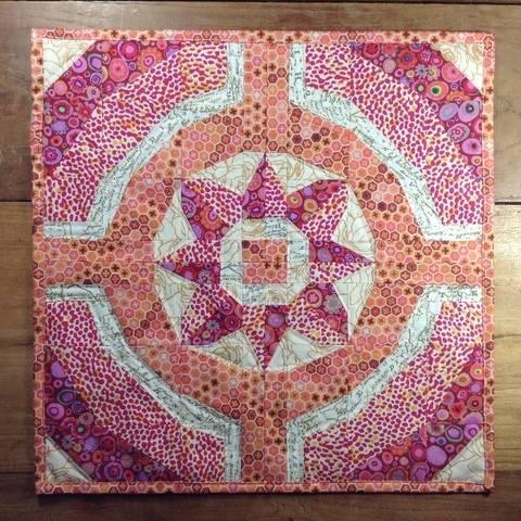 Flower Ring - Eine Patchwork Nähanleitung (Nähen auf Papier) bei Makerist sofort runterladen