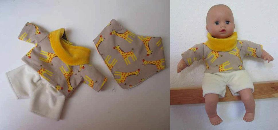 Sommer-Basics für Puppen, 3 Größen - Nähanleitungen bei Makerist sofort runterladen