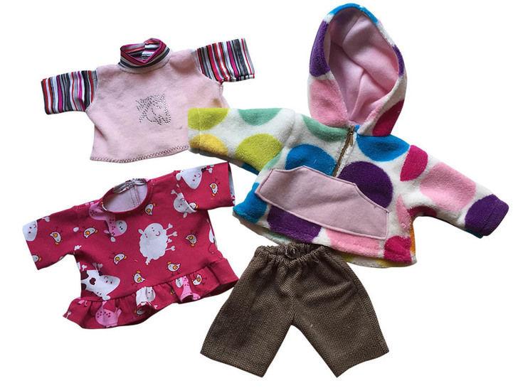 Winter-Basics für Puppen, 3 Größen - Nähanleitungen bei Makerist sofort runterladen