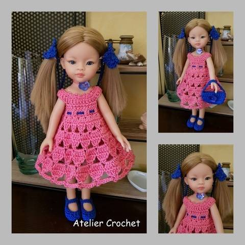 """Download """"Miss in bunches"""" crochet pattern for Paola Reina immediately at Makerist"""