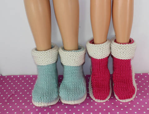 Download His & Hers Super Chunky Slipper Boots immediately at Makerist