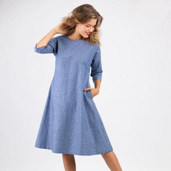 Schnittmuster und Nähanleitung Kleid Anna - Nähanleitungen bei Makerist sofort runterladen