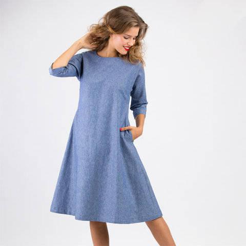 Schnittmuster und Nähanleitung Kleid Anna bei Makerist sofort runterladen