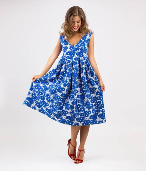 Schnittmuster und Nähanleitung Kleid Lucianda bei Makerist sofort runterladen