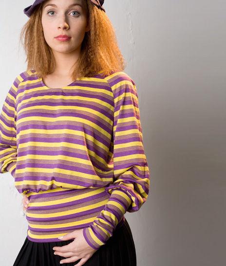 Schnittmuster und Nähanleitung Shirt Bettina - Nähanleitungen bei Makerist sofort runterladen