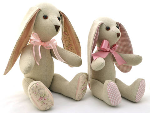 Download Floppy Eared Bunny Soft Toy - Stuffed Toy Sewing Pattern immediately at Makerist