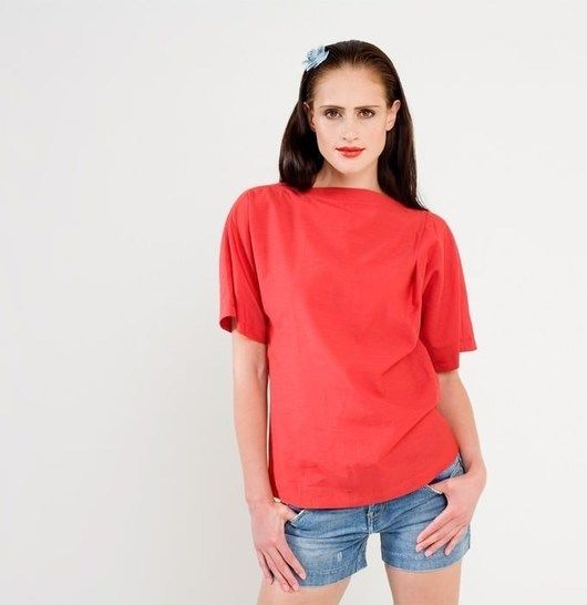 Schnittmuster und Nähanleitung Shirt Mira - Nähanleitungen bei Makerist sofort runterladen