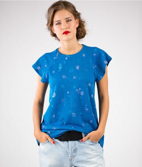 Schnittmuster und Nähanleitung Shirt und Kleid Laisa - Nähanleitungen bei Makerist sofort runterladen