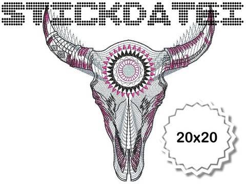 Schädel  20x20 bei Makerist