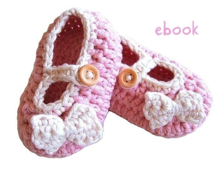 Baby Ballerinas Rosalie Häkelanleitung  - Häkelanleitungen bei Makerist sofort runterladen