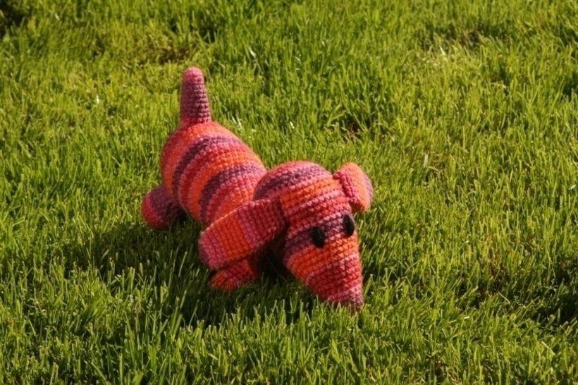 Häkelanleitung Hund Herr Wuff - Häkelanleitungen bei Makerist sofort runterladen