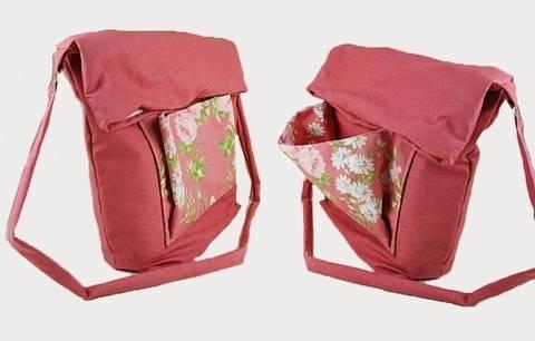 Nähanleitung Schultertasche / Umhängetasche / Tasche bei Makerist sofort runterladen