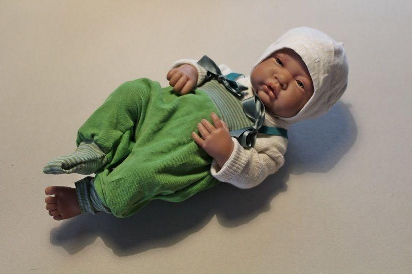 Nähanleitung Babyhose Puppenhose LUCA Gr. 42-62 - Nähanleitungen bei Makerist sofort runterladen