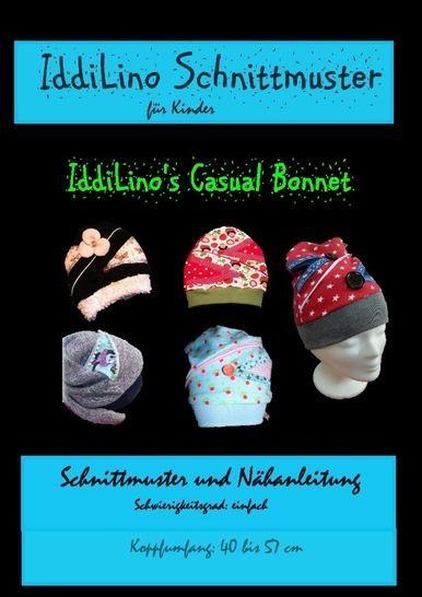 IddiLino's Casual Bonnet - Nähanleitungen bei Makerist sofort runterladen
