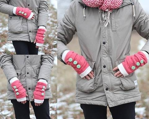 Nähanleitung Stulpen | fingerlose Handschuhe nähen bei Makerist sofort runterladen