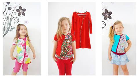 Nähanleitung und Schnittmuster little Elara Mädchenshirt bei Makerist sofort runterladen