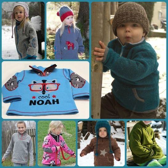 Outdoorpulli Noah Ebook Kinderpullover - Nähanleitungen bei Makerist sofort runterladen