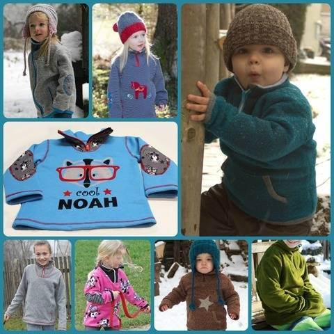 Outdoorpulli Noah Ebook Kinderpullover bei Makerist sofort runterladen