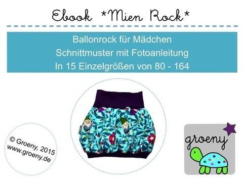 Ebook *Mien Rock* Ballonrock für Mädchen Gr. 80-164 bei Makerist sofort runterladen